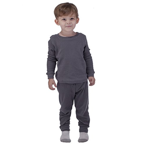 Snozu Boys Thermal Warm Underwear Top and Pant Set Little Boys