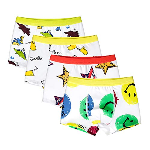 Baby Underwear Toddler Toilet Training Pants Combed Cotton Diaper Covers Bloomers Pack of 4
