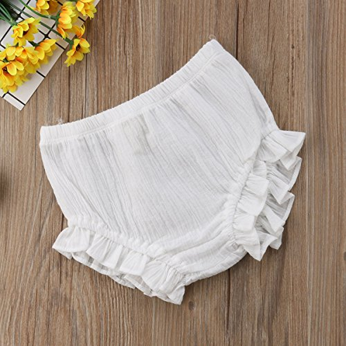muyan Baby Girls Cotton Shorts and Diaper Cover Bloomers