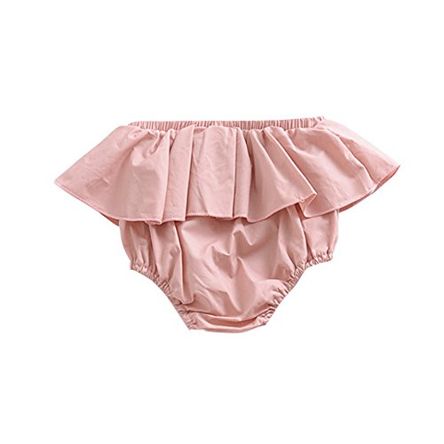 BUENOS NINOS Baby Girls Soft Lace Top Baby Diaper Bloomer